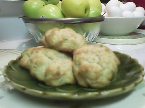Civil War Applesauce Cookies