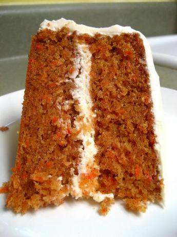 Delectable Carrot Cake With Cream Cheese Frosting