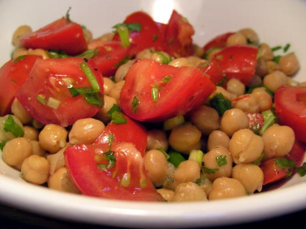 Chickpea and Chilli Salad