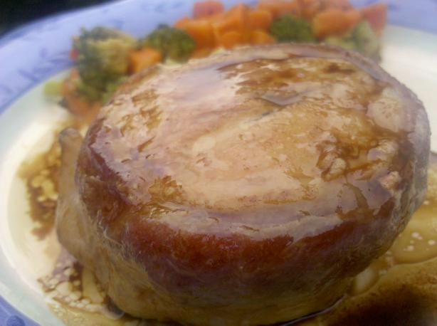 Turkey Filet Mignon Wrapped in Turkey Bacon