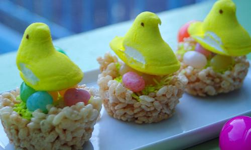 Easter Egg Nest Treats