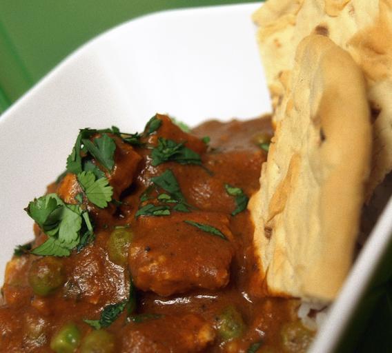 'chicken' Tikka Masala - Vegan Style