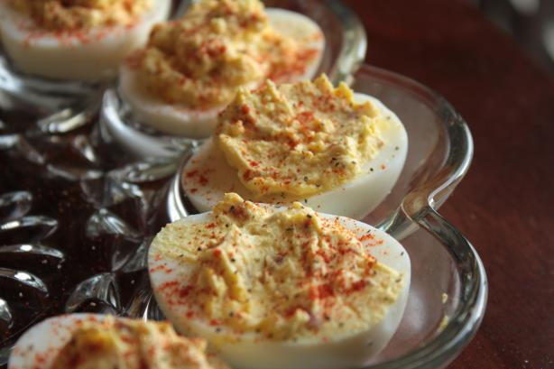 The Geezer's Deviled Eggs