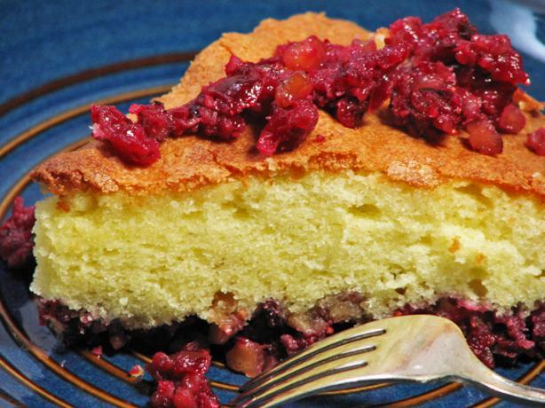 Cranberry Pie-Cake