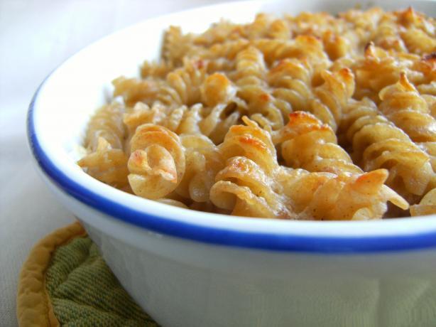 Baked Macaroni and Cheddar