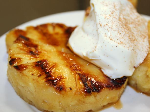 Sticky Chargrilled Pineapple