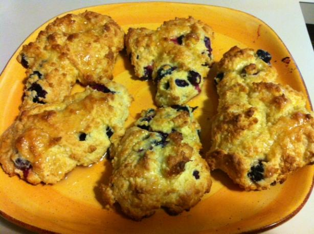 Bisquick Blueberry Scones