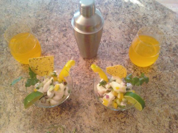 Brian's Tropical Ceviche