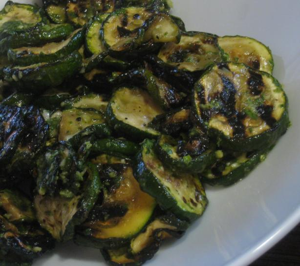 Zucchini With Basil Vinaigrette