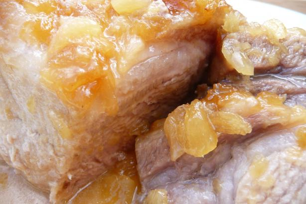 Pineapple Pork Roast (Convection-Microwave)