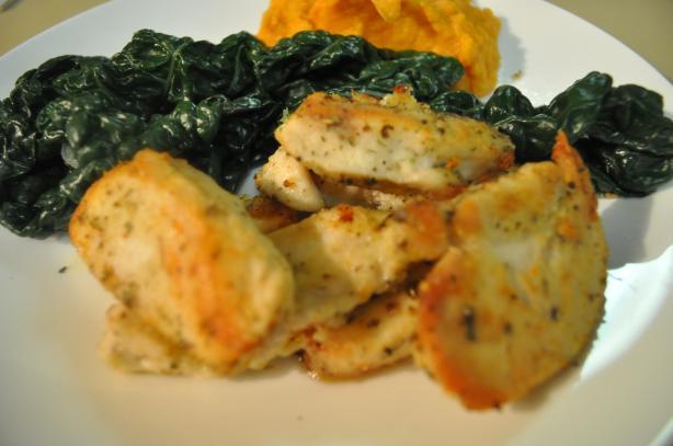 Gluten-Free Italian Chicken Tenders