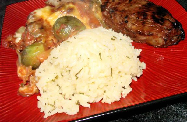 Nif's Pan Prepared Parmesan and Rosemary Rice