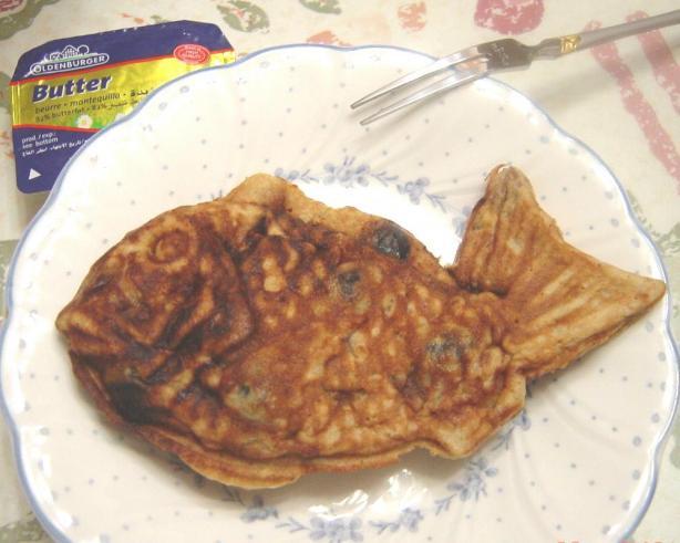 Fish Shaped Pancake (Taiyaki)