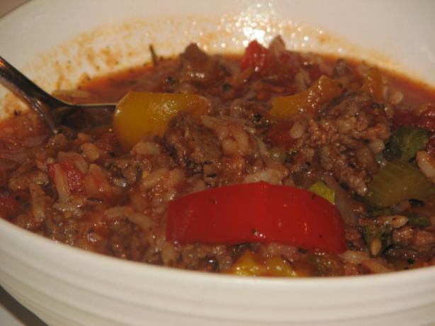 Mama D's Stuffed Pepper Soup