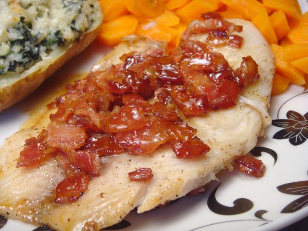 Bacon and Brown Sugar Infused Tilapia