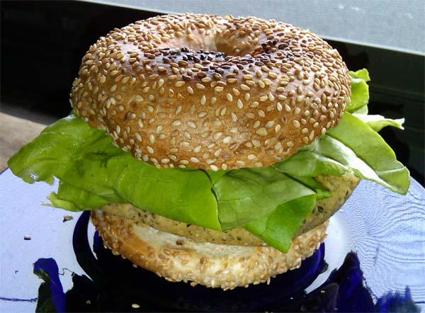 Viki's Hummus Burger Recipe