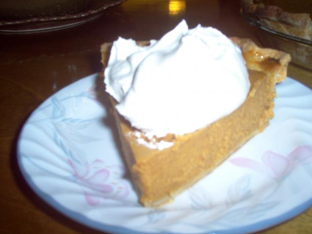 Robert's Sweet Potato Pie