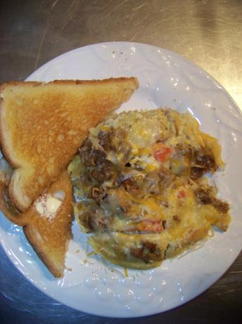 Country Omlet (Casserole Style)