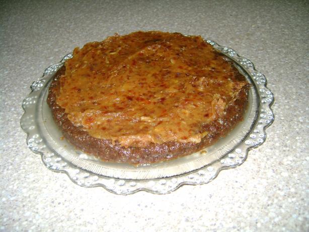 Raw Date Nut Torte