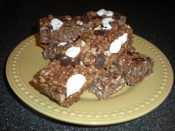 Rocky Road Cereal Bars