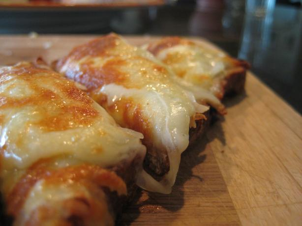 Toasty Onion Cheese Appetizer