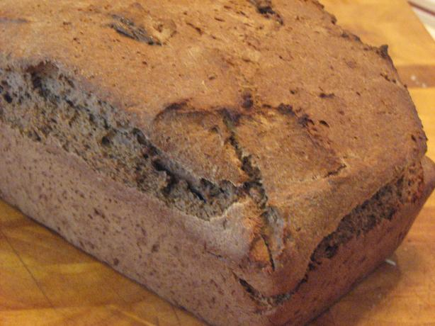 Better Batter Rye Bread