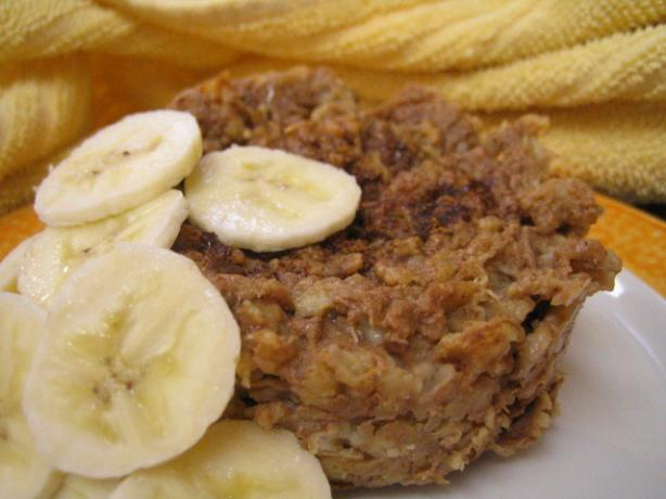 Oatmeal Banana Pudding