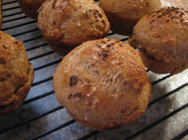 Scandinavian Rye Muffins