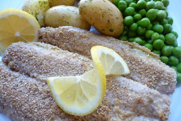 Herring in Oatmeal