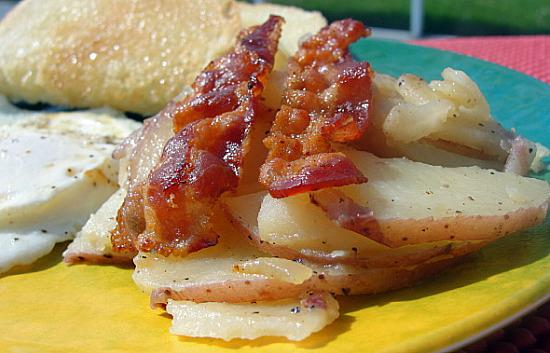 Welsh Five Minute Potatoes