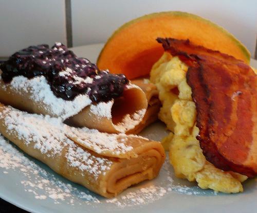 Rolled Swedish Pancakes