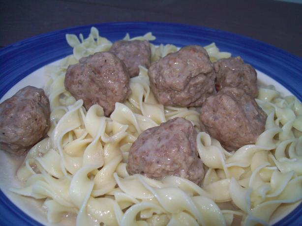 Swedish Meatballs (Alton Brown's)