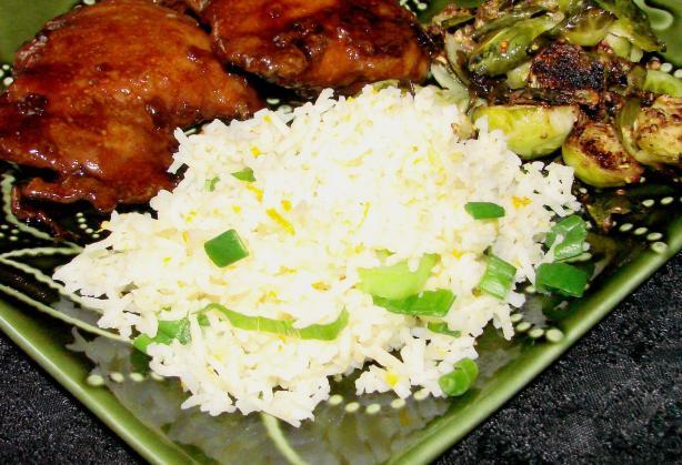 Citrus Jasmine Rice