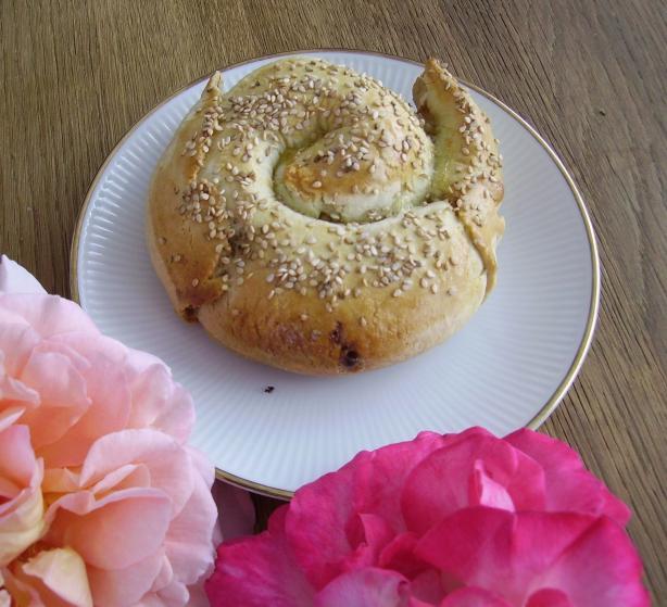 Tahini Bread Tahinli Ekmek