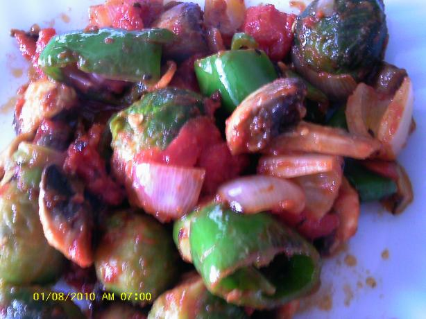 Turkish Brussel Sprouts Bruksel Lahanasi