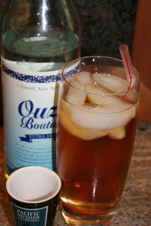 Ouzo Long Drink
