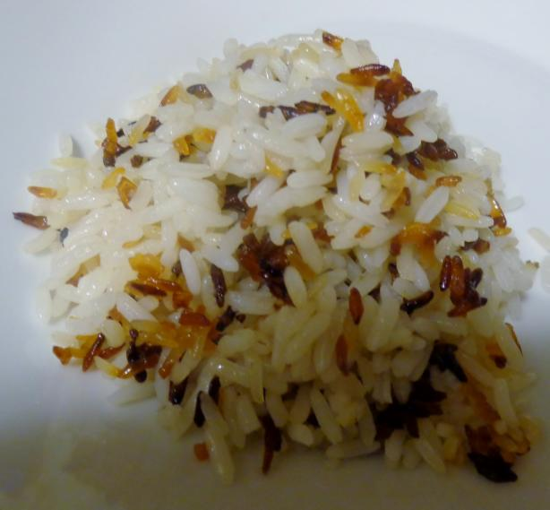 Crunchy Bottom Butter Rice