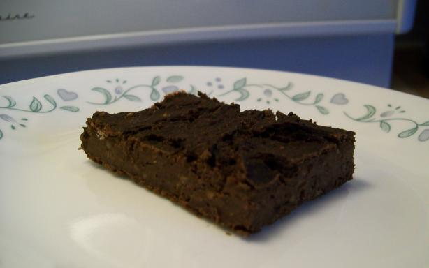 Stevia Black Bean Brownies