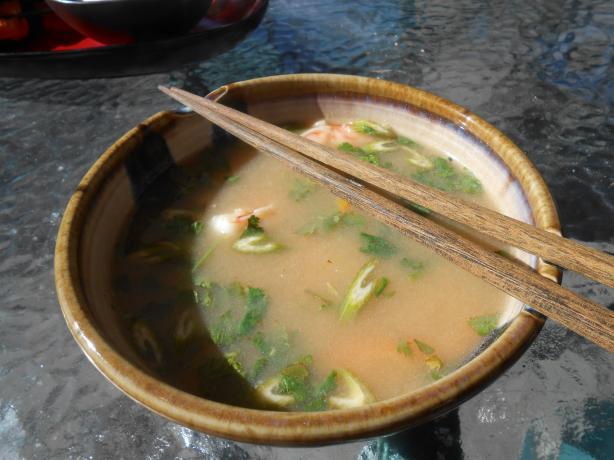 Thai Shrimp & Rice Soup