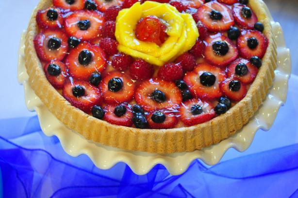 German Strawberry Tart / Erdbeer Tortenboden