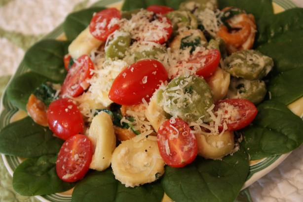 Mustard Girl Tortellini Salad