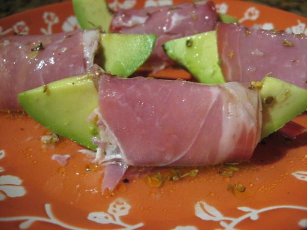Avocado With Prosciutto