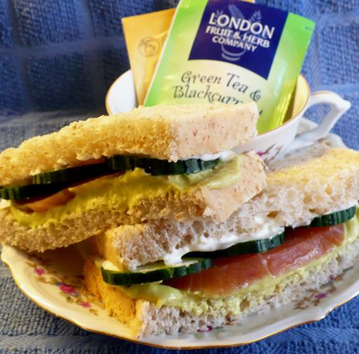 Avocado Tea Sandwiches