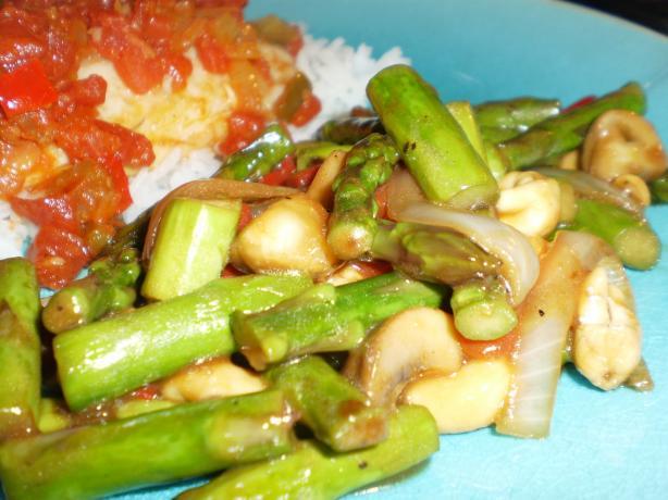 Cashew Asparagus