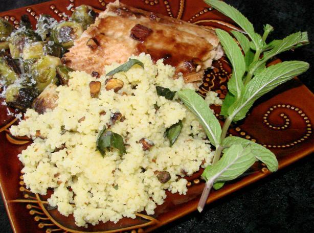 Pistachio Couscous