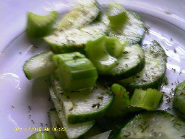Scandinavian Cucumber Salad