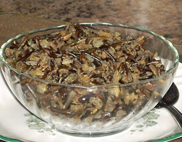 Seasoned Wild Rice (Cooked in a Rice Cooker)