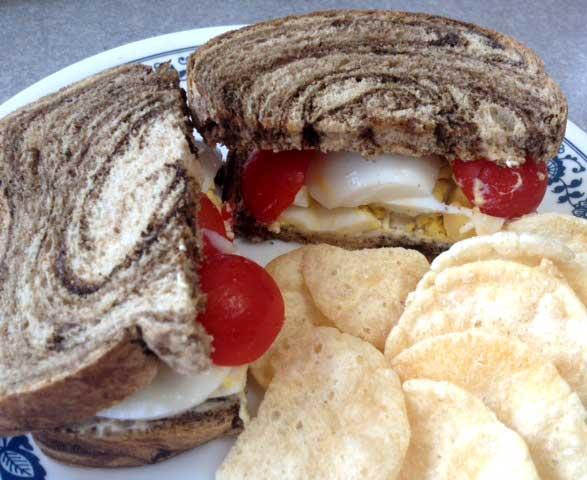 Londoner's Egg Sandwich