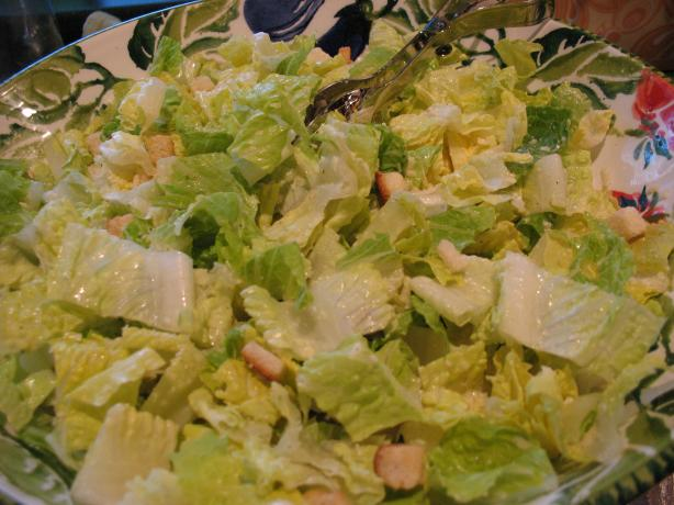 Ceasar Salad With Roasted Capers