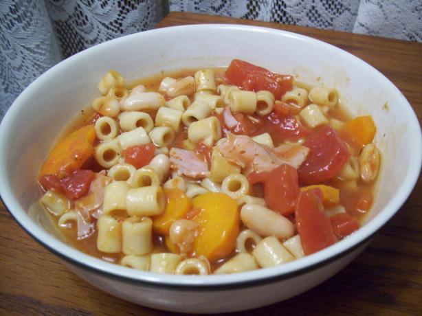 (Spicy) Pasta Fagioli